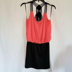 Deb | Coral Strappy Dress